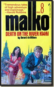 Malko No. 8, cover by Gil Cohen