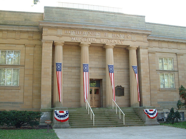 Rutherford B . Hayes Civil War Encampment - 2002_1005_124021AA.JPG