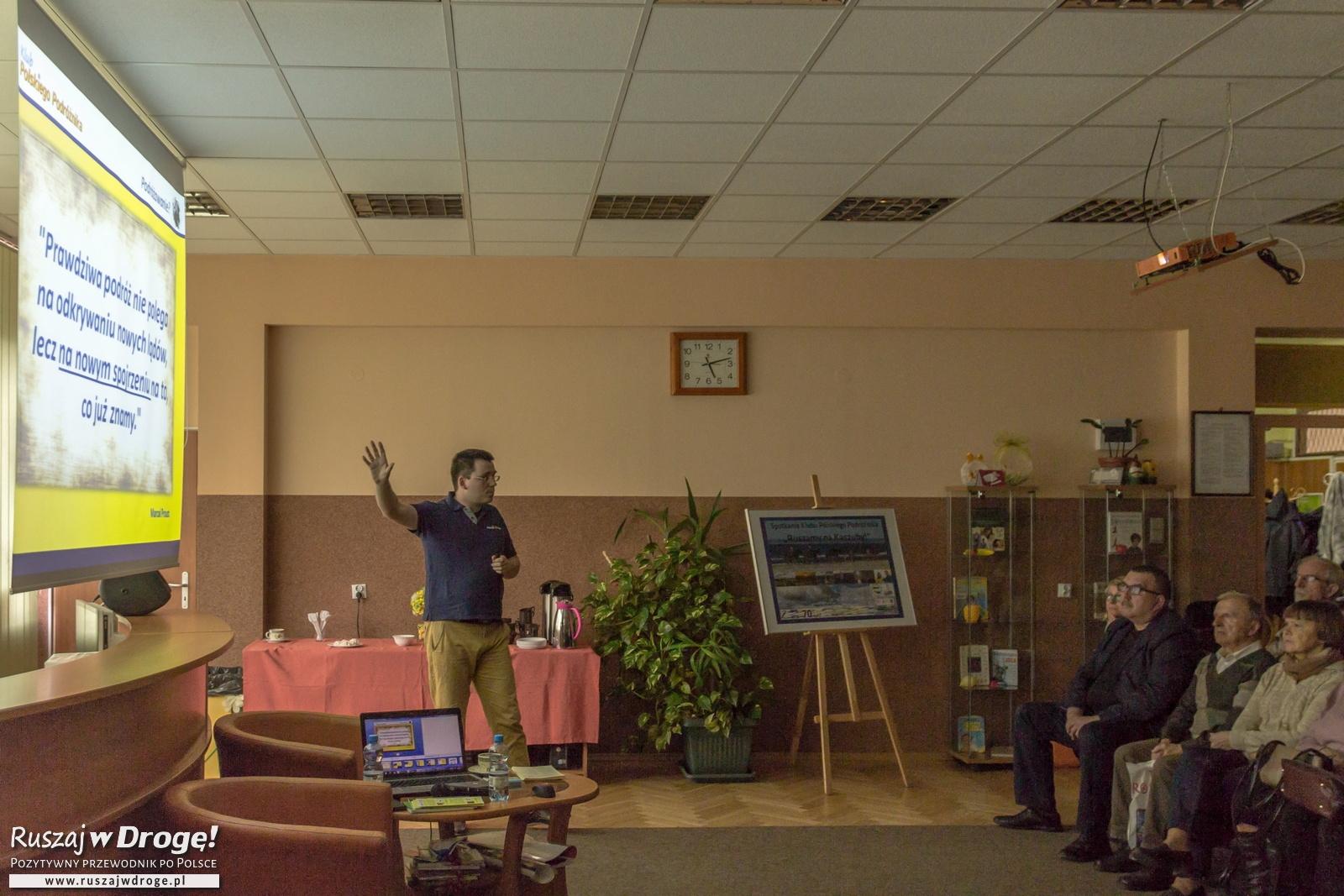 Klub Ruszaj w Drogę! - Spotkania dla pasjonatów polskiej turystyki