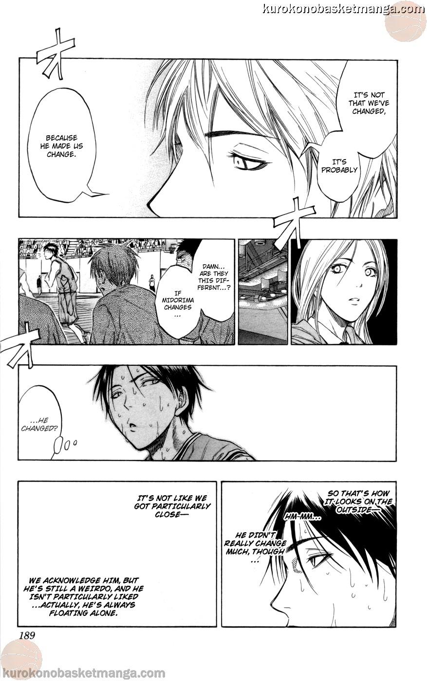 Kuroko no Basket Manga Chapter 89 - Image 15