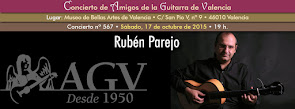 Concierto de Rub�n Parejo, en Amigos de la Guitarra de Valencia