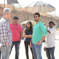 Basthi Movie Working Stills