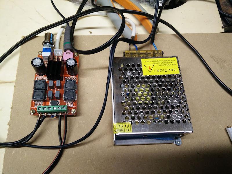 TPA3116D2 2.0 kanaals versterker
