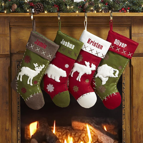 Personalized Rustic Hunting Stockings - Christmas Stockings