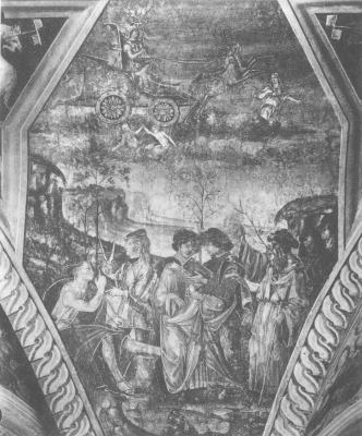 Bernardino Di Betto Called Pinturicchio, Emblems Related To Alchemy