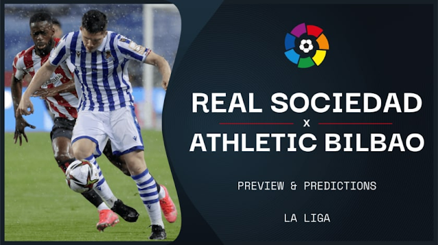 Watch Live Stream Match: Real Sociedad vs Athletic Bilbao (LA LIGA)