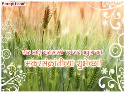 Makar Sankranti Chi Shubhechha Graphics