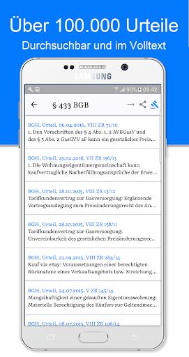 JLaw Gesetze & Urteile screenshot 2