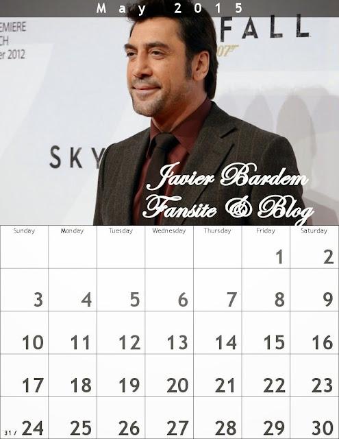 May Calendar/ Calendario mes demayo