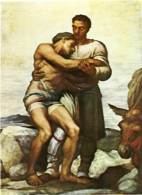 George Frederick Watts - The Good Samaritan
