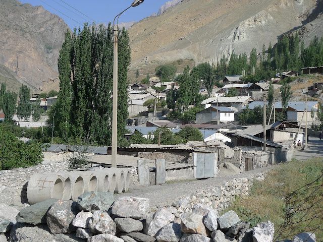 Anzob village, 28 juillet 2009. Photo : J.-F. Charmeux