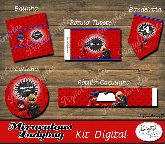 Kit Digital Ladybug  .....artesdigitalsimples@gmail.com
