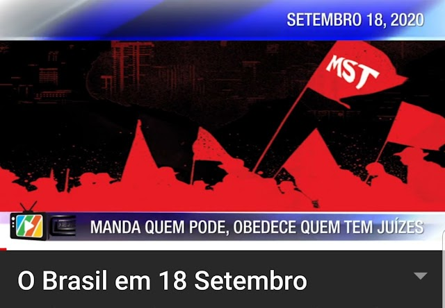 O Brasil em 18 de Setembro