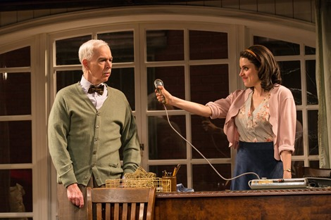 Trying GSP 3-18  092 Trying, by Joanna McClelland Glass, directed by Jim Jack  at George Street Playhouse 3/11/18 Set Design: Jason Simms Costume Design: Esther Arroyo Lighting Design: Christopher J. Bailey  Photo Credit: T Charles Erickson © T Charles Erickson Photography tcepix@comcast.net