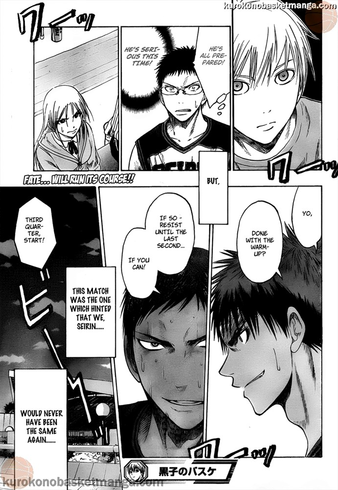 Kuroko no Basket Manga Chapter 48 - Image 19