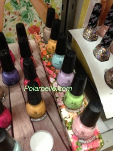 China Glaze City Flourish nail polish collection