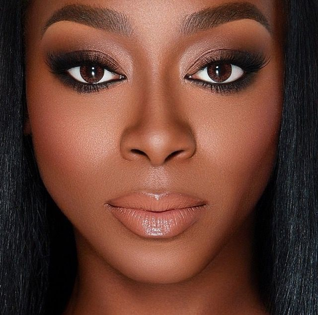 NATURAL WEDDING MAKEUP IDEAS FOR BLACK WOMEN 3