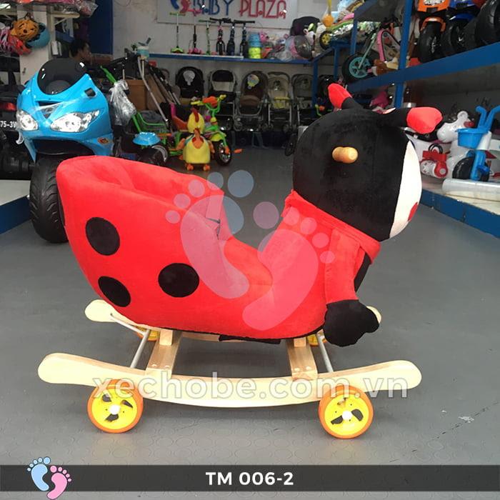 Thú bập bênh cho bé TM006-2 có bánh xe 5