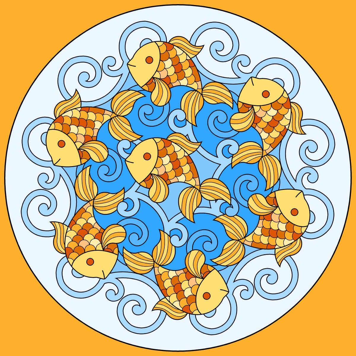 Mandala colorier et imprimer - Telecharger tfou gratuitement ...