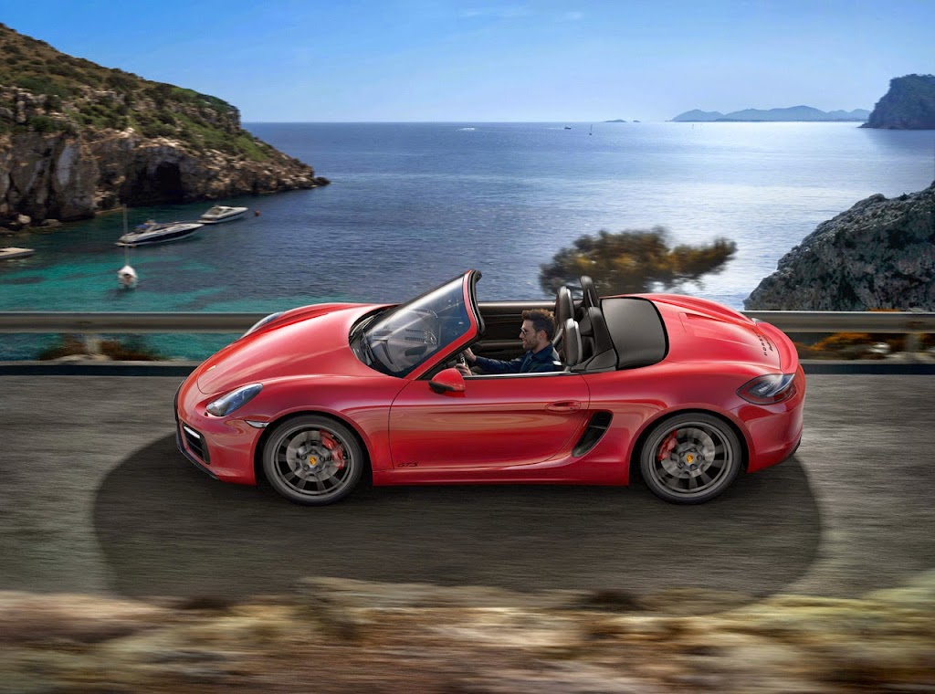Porsche Boxster GTS 4