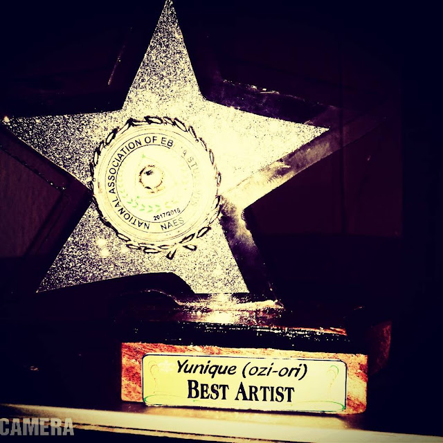 Hello Fans Here I Present To You Guys My Latest Award