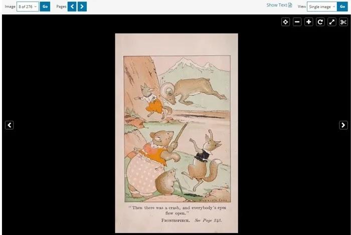 كتب مجانية للأطفال على الإنترنت مكتبة الكونغرس
