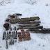 На Луганщині СБУ викрила схрон із вибухівкою та артилерійськими снарядами