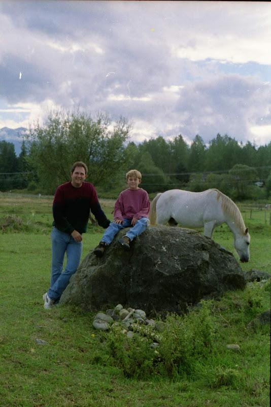 JohnSteve-1992 - Steve and John in Llenroc Field