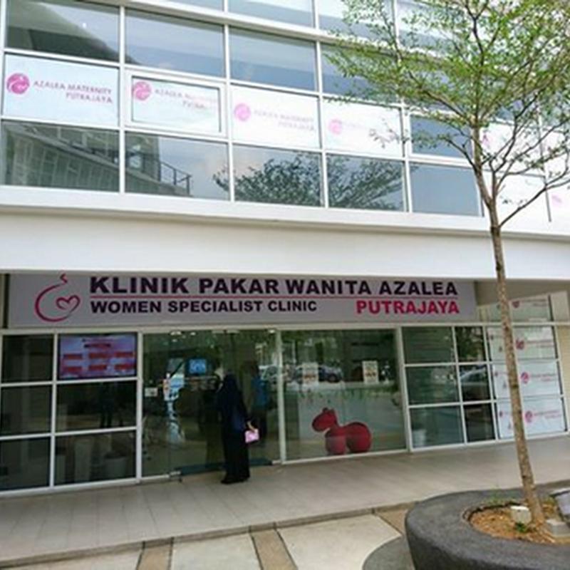 Pemeriksaan rutin di Azalea Maternity , Putrajaya !