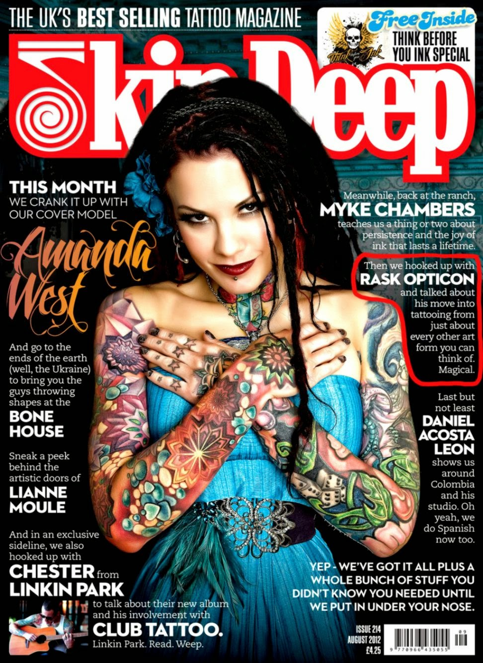 Tattoo Magazine | Free Tattoo Pictures