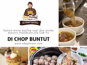 Kenikmatan Sajian Daging Sapi di CHOP BUNTUT
