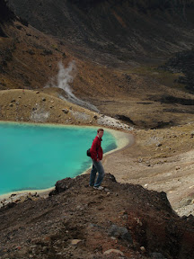 Above the Emerald Lakes, Tongariro Crossing