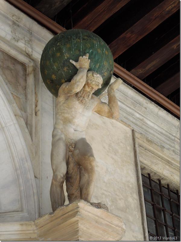 Atlante en el Palacio Ducal - Venecia