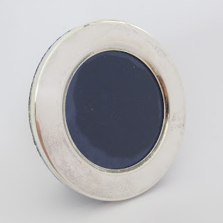 800 Silver Round Picture Frame