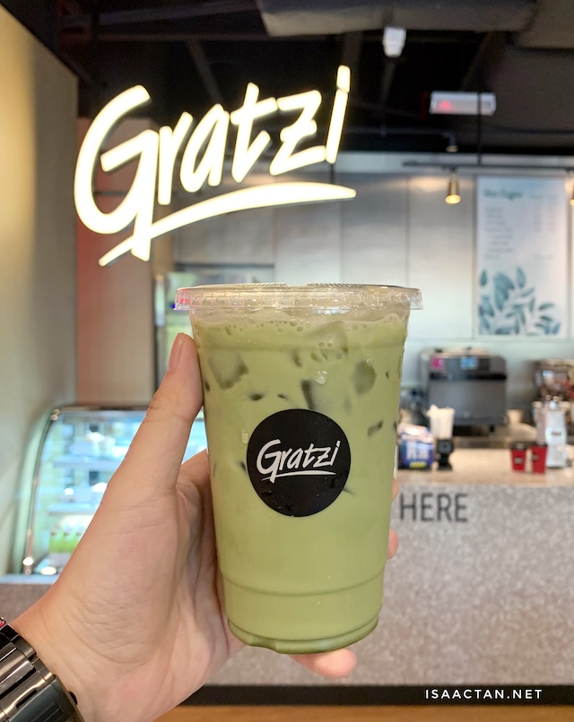 Grab a cup of your favourite matcha latte at Gratzi