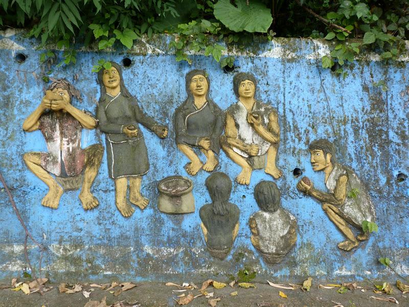 Puli  en passant , entre autres, par les villages de l ethnie Bunum de Loloko et Dili. J 10 - P1170002.JPG