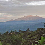 Le volcan Barú (3474 m), dans la cordillère de Talamanca, depuis El Valle de las MInas (Chiriquí, Panamá), 27 octobre 2014. Photo : J.-M. Gayman