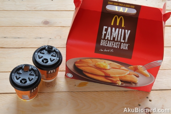 McD's Weekend Indulgence dengan Mcd Family Breakfast Box