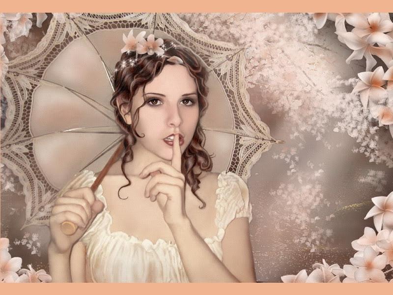 Fantasy Girl With Umbrella, Magic Beauties 2
