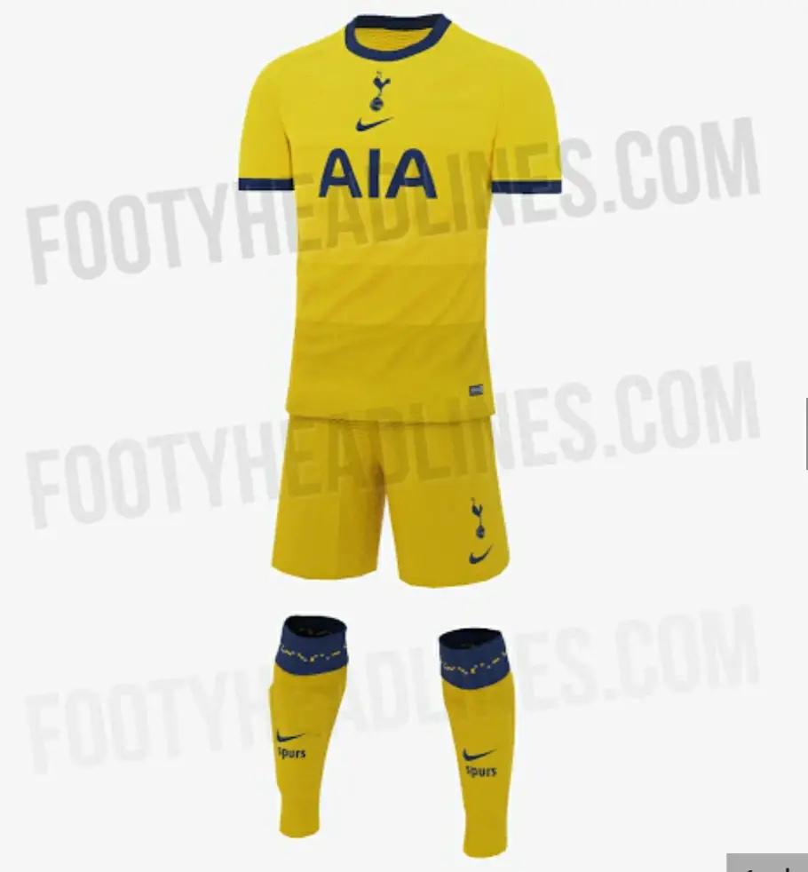 Bocoran Jersey Tottenham Hotspur Third Musim 2020/2021