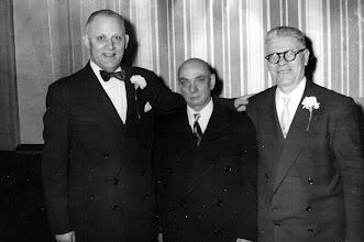Photo: Julius Tulman, Carl Braunhart and Harry Tulman