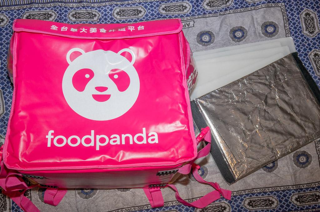 大保溫箱 foodpanda外送員 新手組合包 熊貓外送員基本裝備