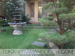 Tukang Taman Murah - Gambar Taman Minimalis Depan Halaman Rumah