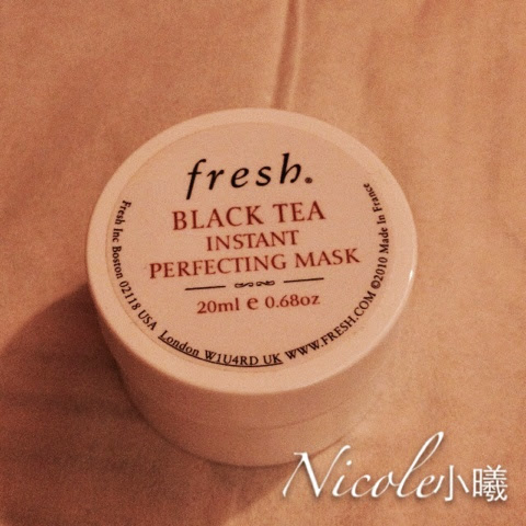 ★☆★(′▽`〃)夏日炎炎修護皮膚好方法 Fresh black tea Instant perfecting mask★ ...