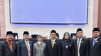 Rapat Paripurna Istimewa DPRD Karawang Resmi Melantik Akmaludin PAW H Anda Suhanda (Alm)