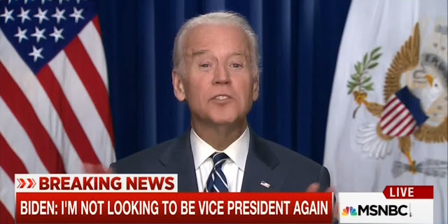 Joe Biden toys with running again