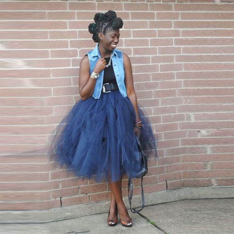 BEAUTIFUL COLLECTION OF TULLE DRESS AND SKIRTS FOR AFRICAN WOMEN 4