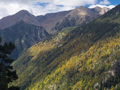 Colors de tardor a la capçalera de la Vall de Boí