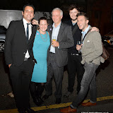 WWW.ENTSIMAGES.COM -  Ben Abrahams, Cecilia Lavin, Robin Parker, Calumn Gill and Ryan Curtis  post cat walk at        Stella McCartney Foundation Event at Louise Blouin Building 3 Olaf Street London September 24th 2013                                             Photo Mobis Photos/OIC 0203 174 1069