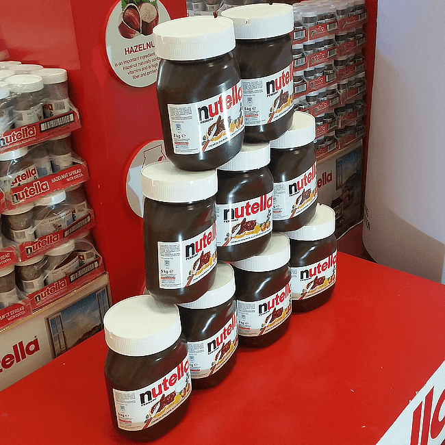 Love Nutella? Check Out The Nutella Pop-Up Store at Trinoma!